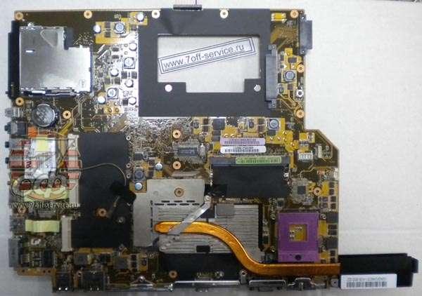 плата ноутбука Asus G2S