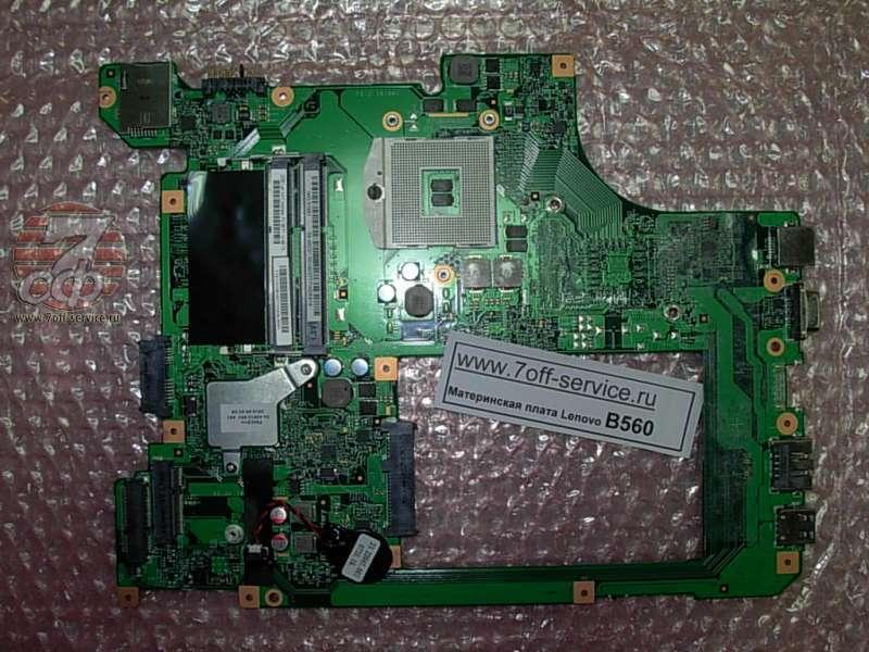 плата ноутбука Lenovo B560